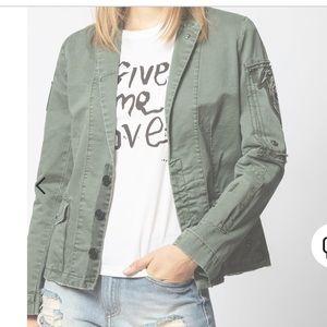 Zadig&Voltaire Vintage green denim jacket